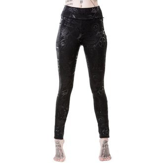 KILLSTAR Női Leggings - GRAVE - FEKETE, KILLSTAR
