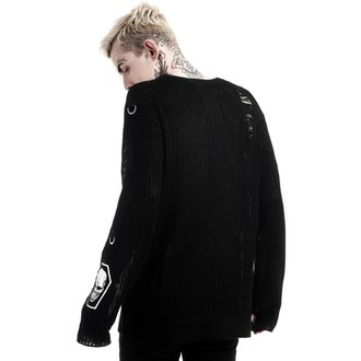 KILLSTAR unisex pulóver - Haight You Knit - Fekete, KILLSTAR