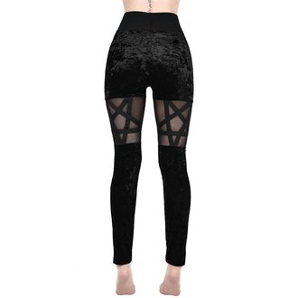KILLSTAR Női Leggings - HELLION - FEKETE, KILLSTAR