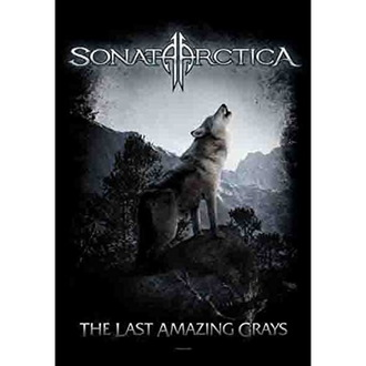 Sonata Arctica Zászló - The Last Amazing Grays, HEART ROCK, Sonata Arctica