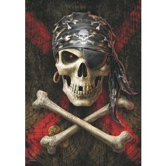 Anne Stokes Zászló - Pirate Skull, ANNE STOKES