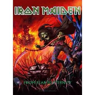 Iron Maiden Zászló - from Fear to Eternity, HEART ROCK, Iron Maiden