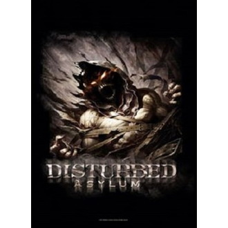 Disturbed Zászló - Big Fade Asylum, HEART ROCK, Disturbed