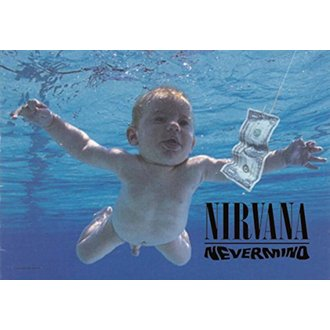 Nirvana Zászló - Nevermind, HEART ROCK, Nirvana