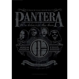 Pantera Zászló - High Noon Your Doom, HEART ROCK, Pantera