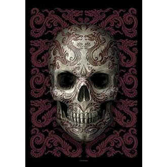 Anne Stokes Zászló - Oriental Skull, ANNE STOKES