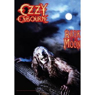 Ozzy Osbourne Zászló - Bark at the Moon, HEART ROCK, Ozzy Osbourne
