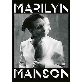 Marilyn Manson Zászló - Seven Days Binge, HEART ROCK, Marilyn Manson