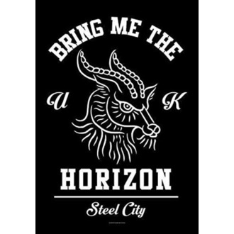 Bring Me the Horizon Zászló - Goat, HEART ROCK, Bring Me The Horizon