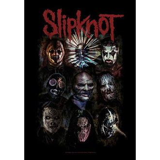 Slipknot Zászló - Oxidized, HEART ROCK, Slipknot