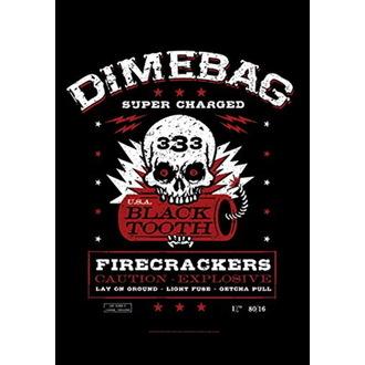 Dimebag Darrel Zászló - Firecrackers, HEART ROCK, Dimebag Darrell