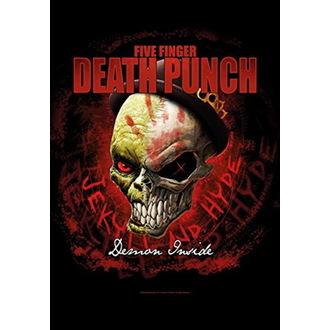 Five Finger Death Punch Zászló - Dapper, HEART ROCK, Five Finger Death Punch
