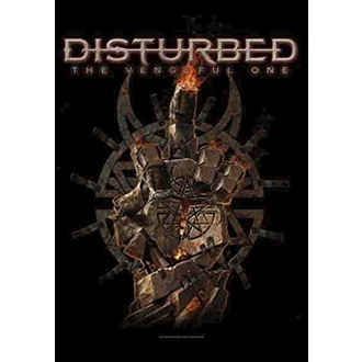 Disturbed Zászló - The Vengeful One, HEART ROCK, Disturbed