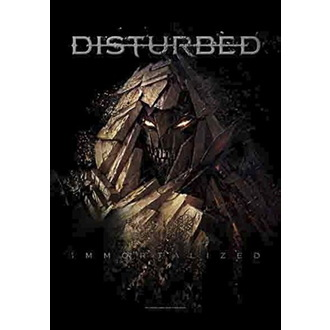 Disturbed Zászló - Shattered, HEART ROCK, Disturbed