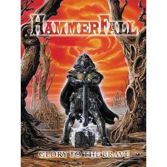 zászló Hammerfall - Glory to The Brave, HEART ROCK, Hammerfall