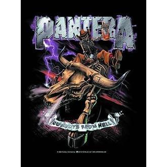 zászló Pantera - Cowboys From Hell, HEART ROCK, Pantera