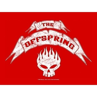 zászló Offspring - Banner, HEART ROCK, Offspring