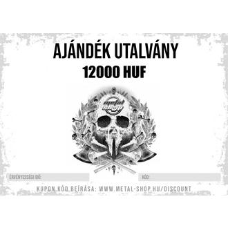 AJÁNDÉK UTALVÁNY 12000 HUF