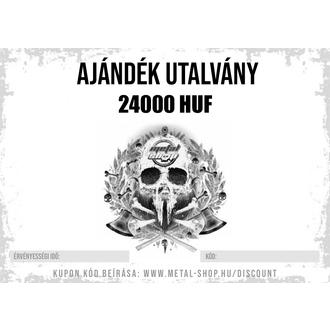 AJÁNDÉK UTALVÁNY 24000 HUF