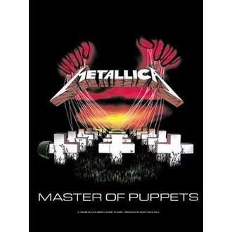 zászló Metallica - Master Of Puppets, HEART ROCK, Metallica
