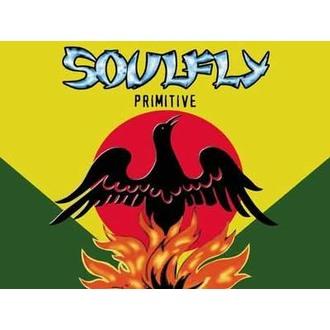 zászló Soulfly - Primitív, HEART ROCK, Soulfly
