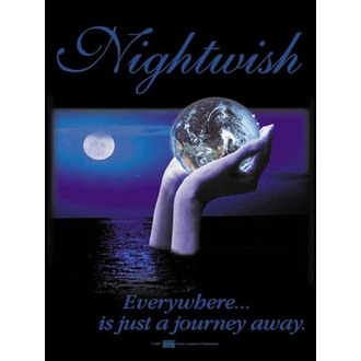 zászló Nightwish - Everywhere, HEART ROCK, Nightwish
