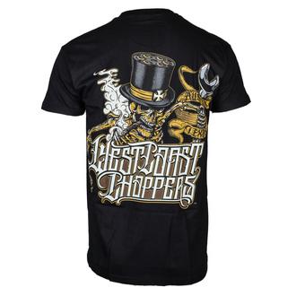 tričko pánské WEST COAST CHOPPERS - ONRIDE - Solid Black, West Coast Choppers