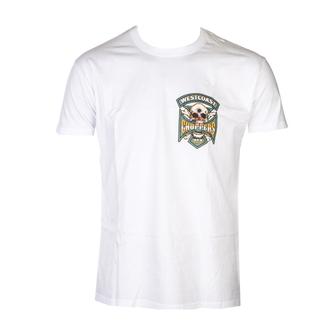 tričko pánské WEST COAST CHOPPERS - HIPSTER HUNTERS - Solid White, West Coast Choppers