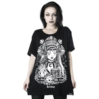 KILLSTAR Női póló - In Goth We Trust Relaxed, KILLSTAR