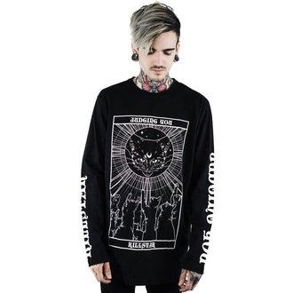 tričko pánské s dlouhým rukávem KILLSTAR - Judgement - BLACK