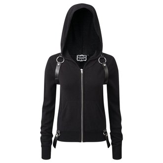 kapucnis pulóver női - Killafornia Knit - KILLSTAR, KILLSTAR