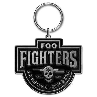 Foo Fighters Kulcstartó - Est. 1995 - RAZAMATAZ, RAZAMATAZ, Foo Fighters