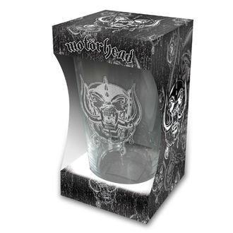 Motörhead Üvegpohár - Warpig Etched Print - RAZAMATAZ, RAZAMATAZ, Motörhead