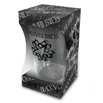 Black Veil Brides Üvegpohár - Logo - RAZAMATAZ, RAZAMATAZ, Black Veil Brides