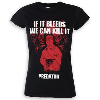 filmes póló női Predator - If It Bleeds - HYBRIS, HYBRIS, Predator