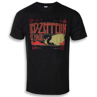 metál póló férfi Led Zeppelin - Zeppelin & Smoke Black - NNM, NNM, Led Zeppelin