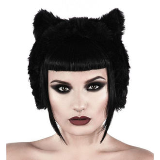 KILLSTAR Fülvédő - Le Chat Noir Ear Muffs - Fekete, KILLSTAR
