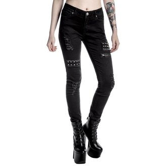 KILLSTAR női nadrág - Lithium - Fekete, KILLSTAR