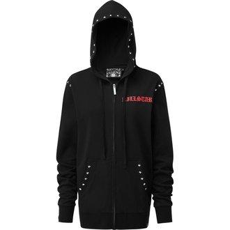 kapucnis pulóver férfi - LIT ZIP UP - KILLSTAR
