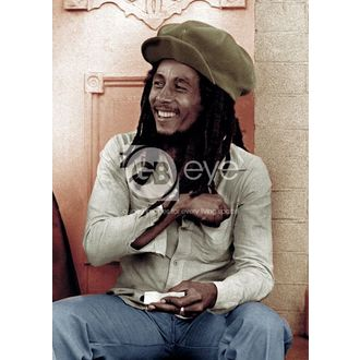poszter - BOB MARLEY rolling 2 - LP0800, GB posters, Bob Marley
