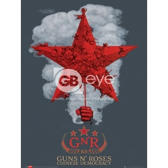poszter - Guns N' Roses chinese - LP1259, GB posters, Guns N' Roses