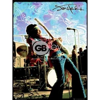 poszter - JIMI HENDRIX live - LP1270, GB posters, Jimi Hendrix