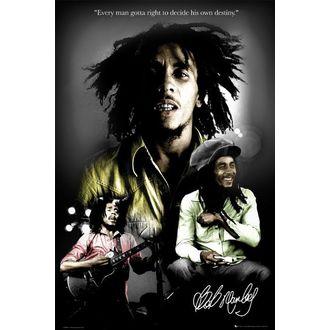 poszter - BOB MARLEY destiny - LP1328, GB posters, Bob Marley
