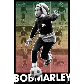 Bob Marley poszter - Football S.O.S. - GB Posters, GB posters, Bob Marley