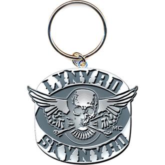 kulcstartó - kulcstartó Lynyrd Skynyrd (Biker Patch Logo) - ROCK OFF, ROCK OFF, Lynyrd Skynyrd