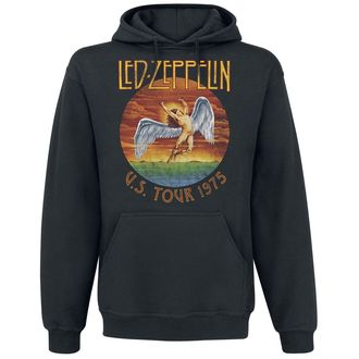 kapucnis pulóver férfi Led Zeppelin - USA Tour 1975 -, Led Zeppelin