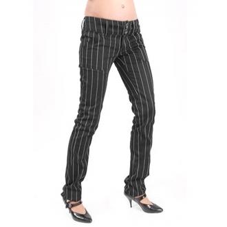 nadrág női Mode Wichtig - Pretty Low-Cut Pin Stripe, MODE WICHTIG
