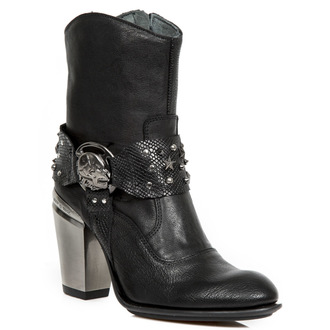 magassarkú cipő női - BUFALO WILD NEGRO - NEW ROCK, NEW ROCK