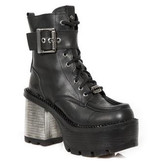 magassarkú cipő női - CRUST NEGRO, SEVENTY NEGRO - NEW ROCK, NEW ROCK