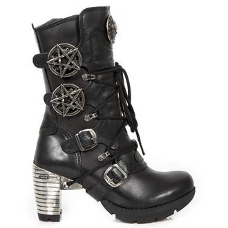 magassarkú cipő női - ITALI NEGRO, NOMADA NEGRO - NEW ROCK, NEW ROCK